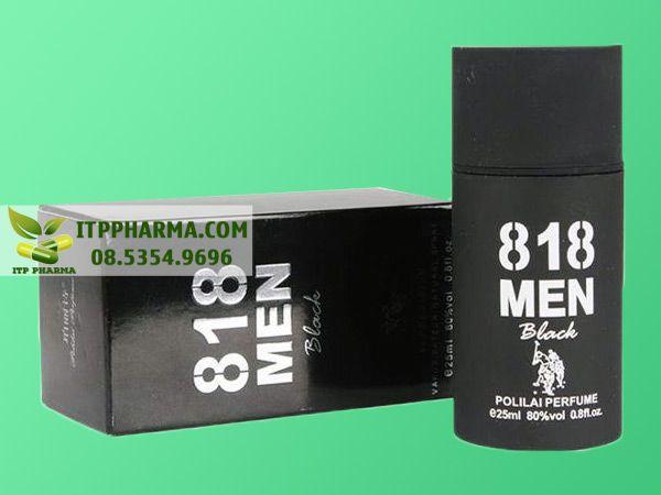 Nước hoa kích dục nam 818 Men Black