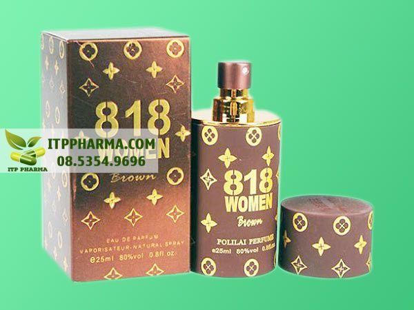 Nước hoa kích dục nữ 818 Woman Brown