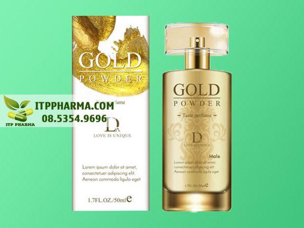 Nước hoa kích dục không mùi Gold Powder D