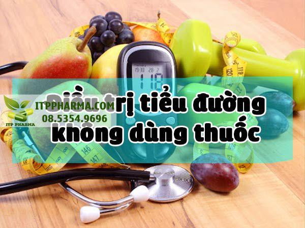 Điều trị tiểu đường không dùng thuốc