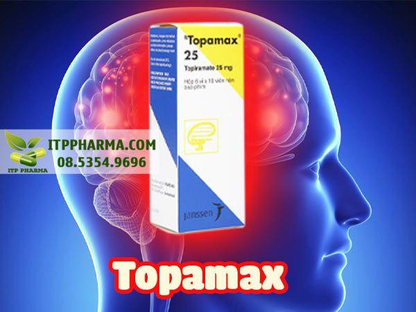 Thuốc điều trị động kinh Topamax