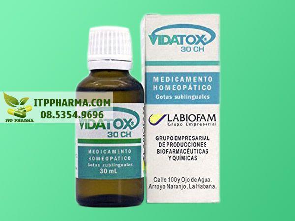 Hình ảnh thuốc Vidatox