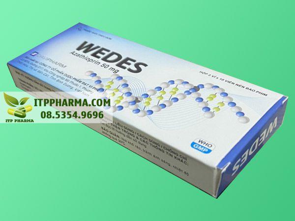 Hướng dẫn sử dụng thuốc Wedes