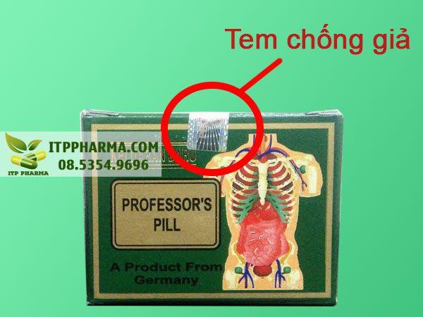 Tem chống giả Professor's Pill Keluaran Baru