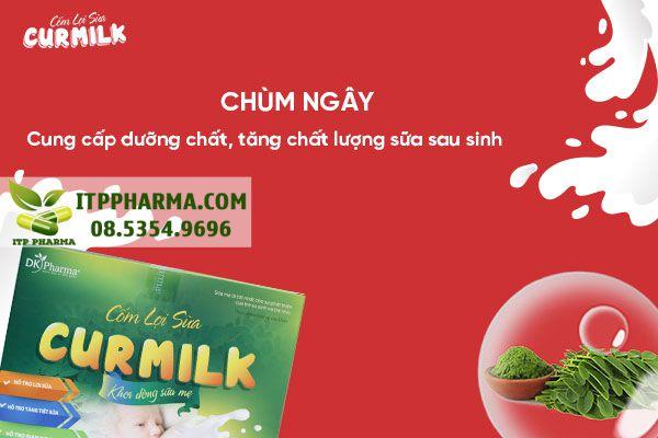Chùm ngây giúp cung cấp dưỡng chất, tăng chất lượng sữa sau sinh