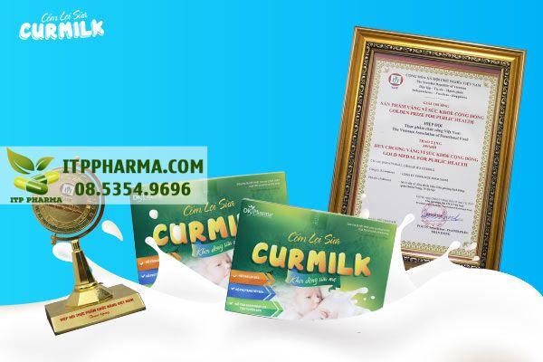 """Cốm lợi sữa Curmilk vinh dự nhận giải thưởng """"Sản phẩm vàng vì sức khỏe cộng đồng"""""""