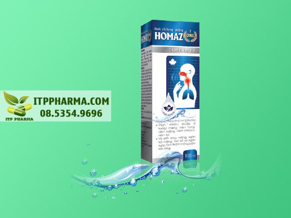 Nước súc miệng diệt khuẩn Homaz One (a1)