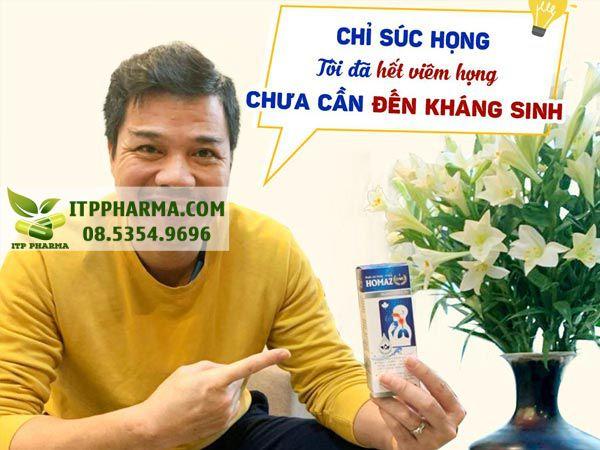 Danh thủ Phạm Như Thuần, đã dùng Homaz One cho cả gia đình