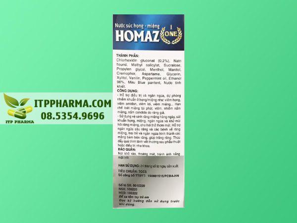 Dùng nước súc miệng Homaz, có thể khỏi viêm họng, chưa cần dùng kháng sinh