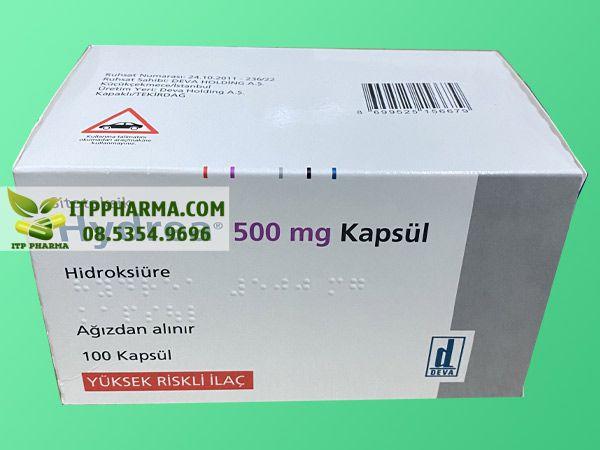 Hình ảnh thuốc Hydrea của Thổ Nhĩ Kỳ