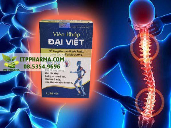 Hình ảnh Viên Khớp Đại Việt giúp mạnh xương khớp