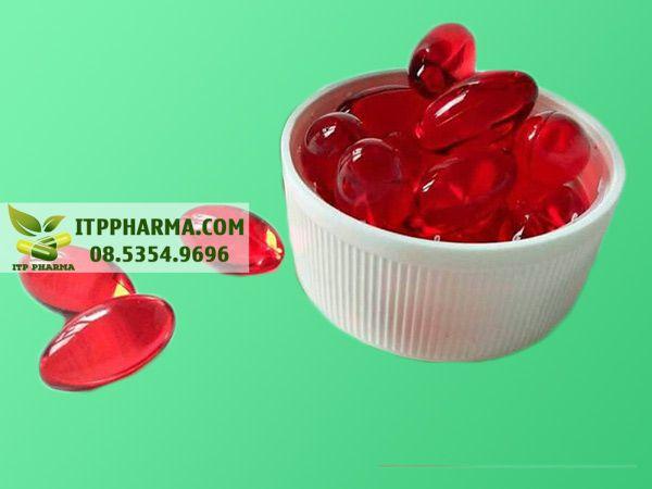 Vitamin E đỏ Nga dạng viên
