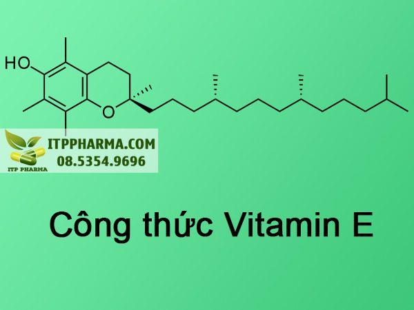 Công thức Vitamin E