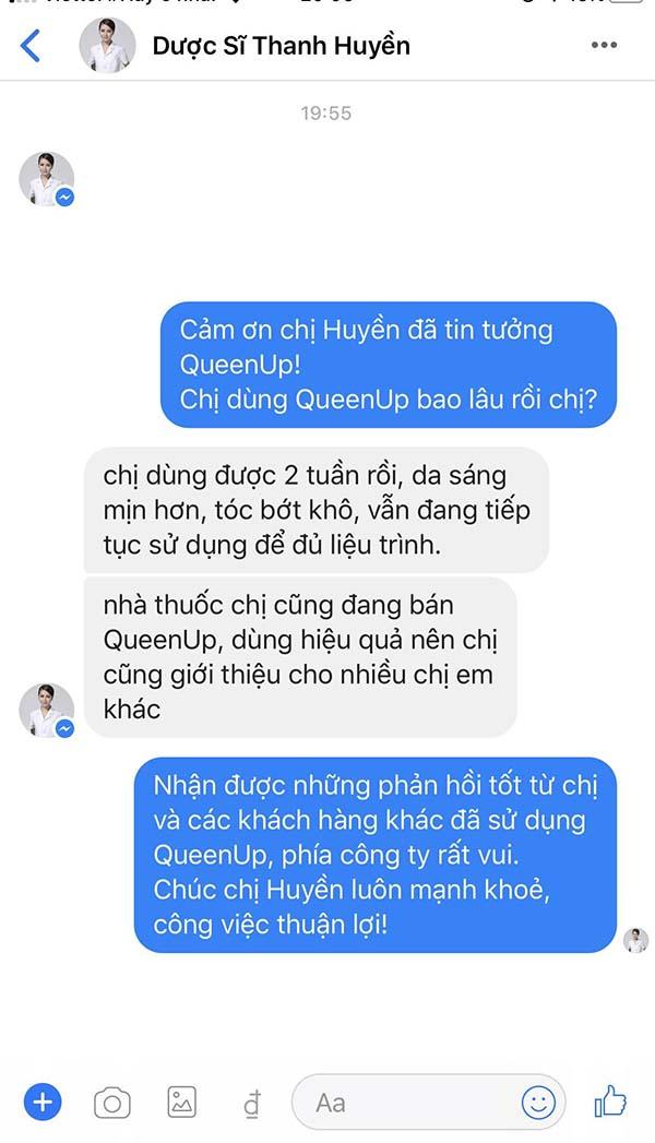 Chủ nhà thuốc lớn ở Hà Nội cũng sử dụng QueenUp cũng rất hiệu quả!