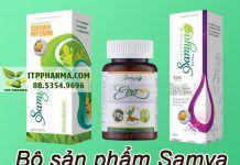 Bộ sản phẩm chăm sóc vùng kín Samya
