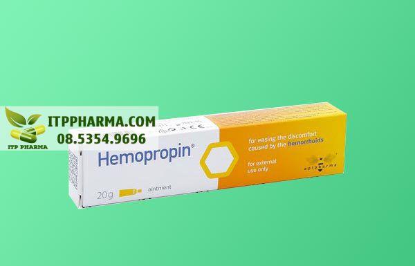Hình ảnh thuốc Hemopropin dùng cho người bệnh trĩ