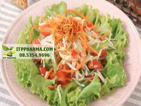 Salad đu đủ
