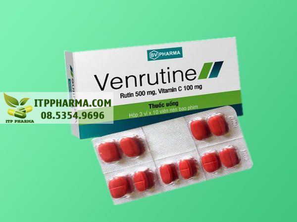 Hình ảnh thuốc Venrutine