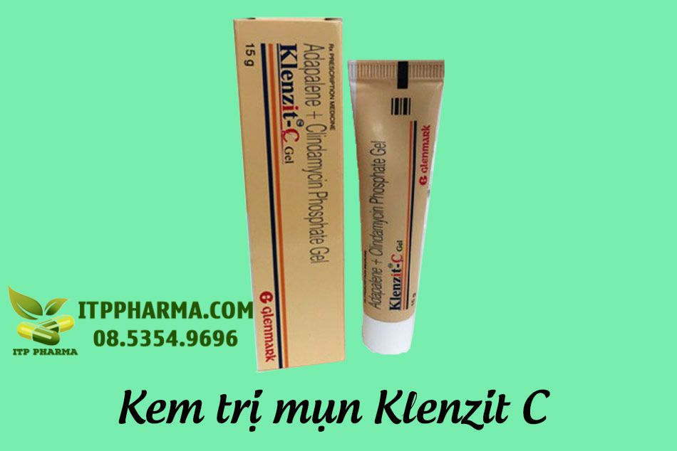 Kem trị mụn trứng cá Klenzit C