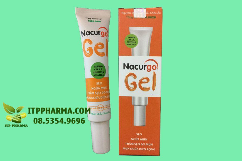 Nacurgo gel - Trị mụn trứng cá hiệu quả
