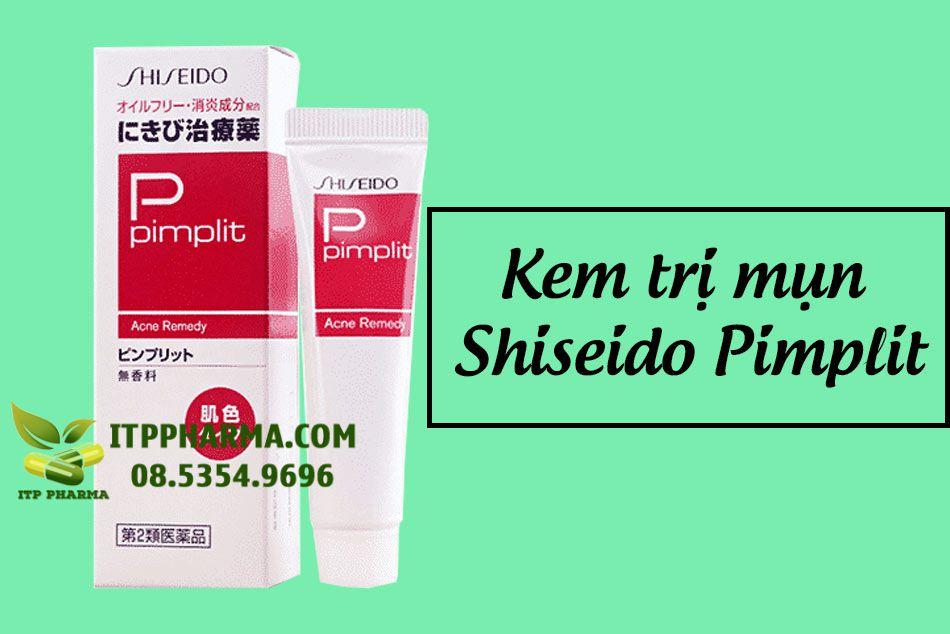 Kem trị mụn Shiseido Pimplit - Đánh bay mụn tận gốc