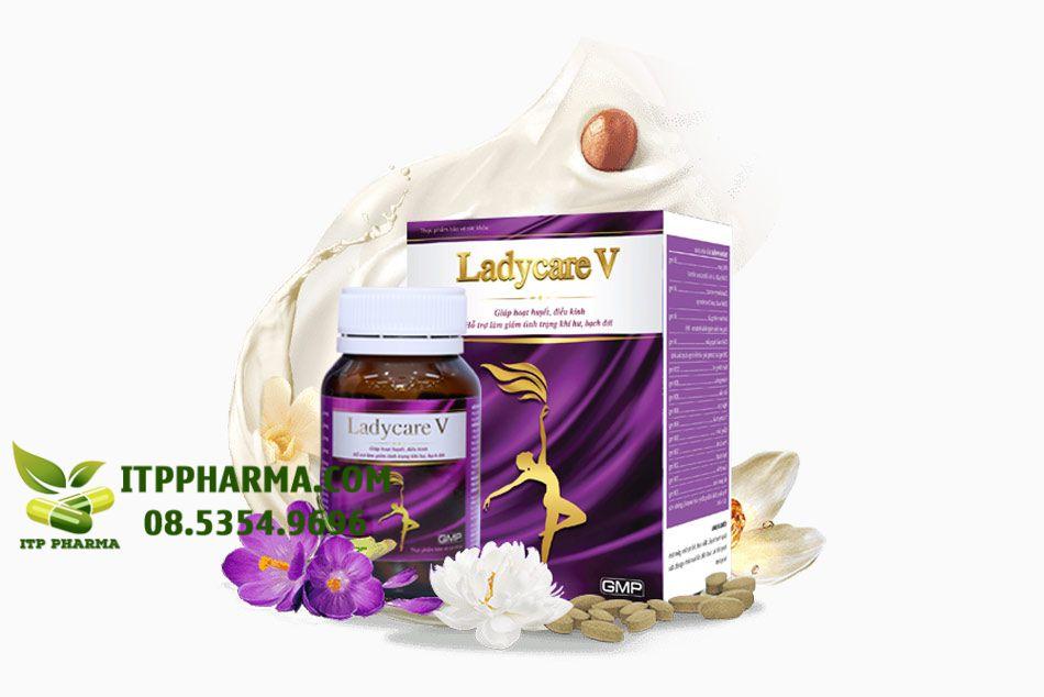 Ladycare V - Viên uống Phụ khoa đầu tiên tại Việt Nam có chứa hợp chất Pacran