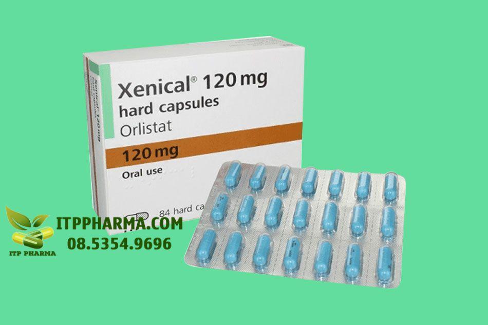 Thuốc Xenical cào chế dạng viên nang