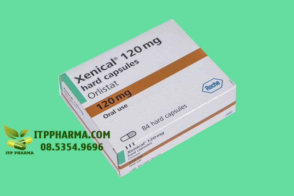 Hình ảnh hộp thuốc Xenical