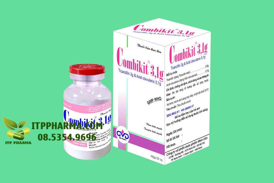 Hình ảnh hộp thuốc Combikit