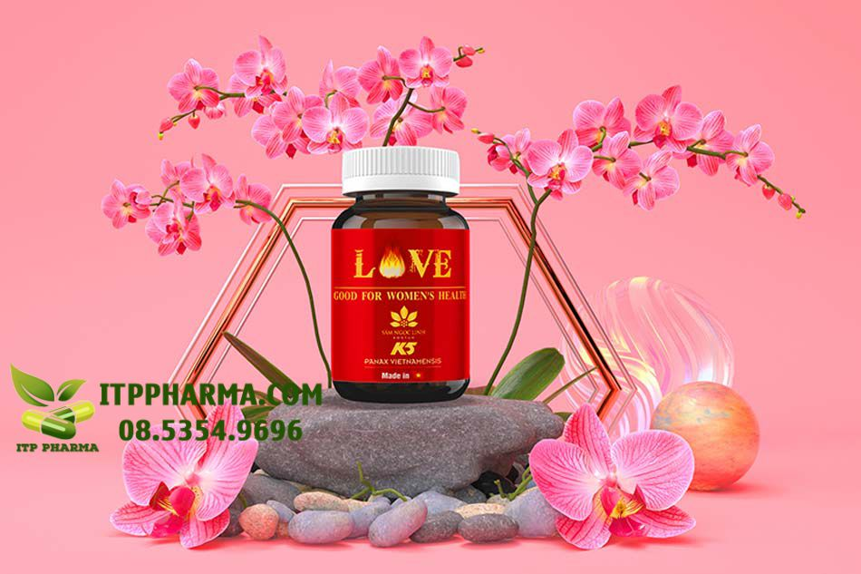 Love Good For Women's Health giúp bổ sung nội tiết tố nữ