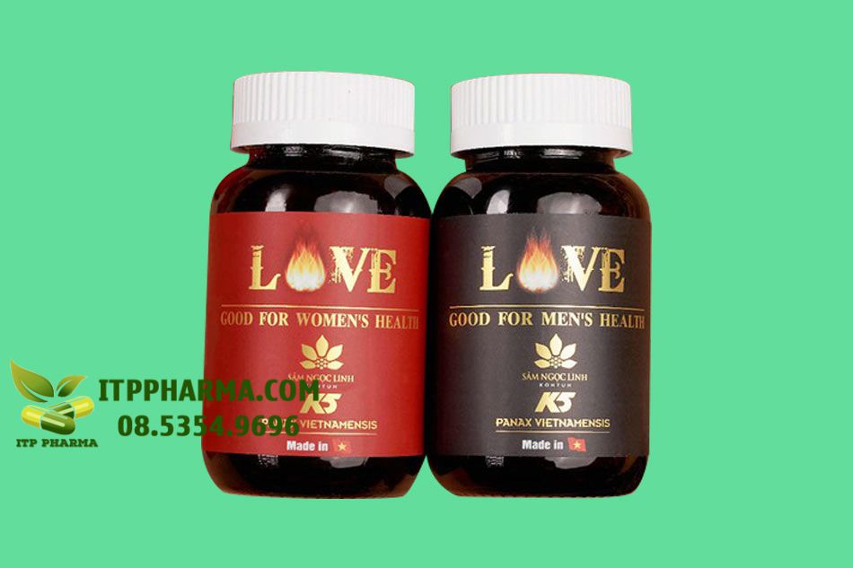 Love Good For Women's và Love Good For Men's