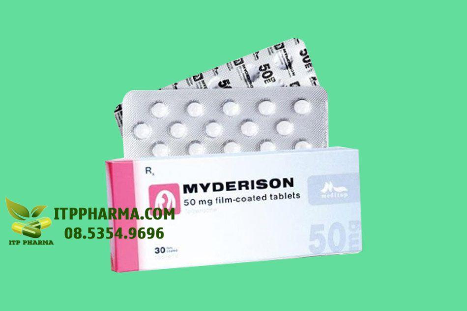 Hình ảnh vỉ thuốc Myderison