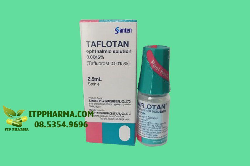 Hình ảnh lọ thuốc nhỏ mắt Taflotan