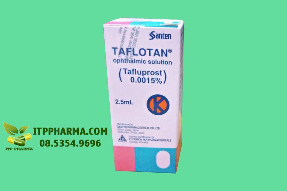 Thuốc Taflotan chứa thành phần Tafluprost