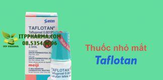 Thuốc nhỏ mắt Taflotan