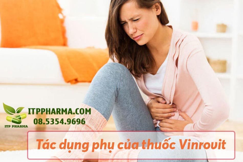 Tác dụng phụ của thuốc Vinrovit