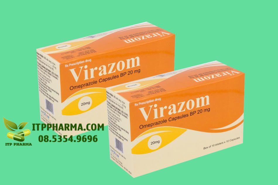 Virazom bào chế dạng viên nang