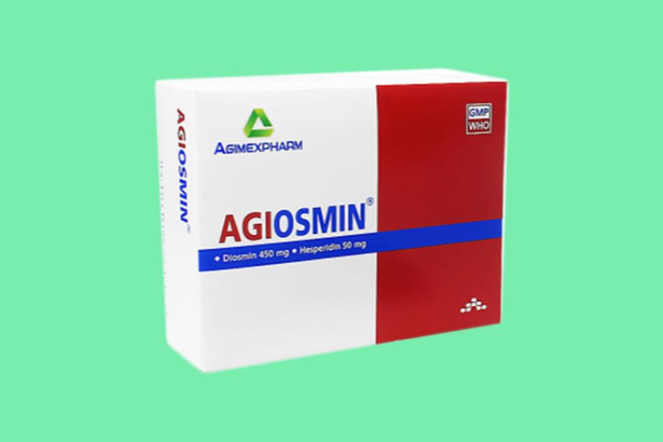 Hình ảnh hộp thuốc Agiosmin