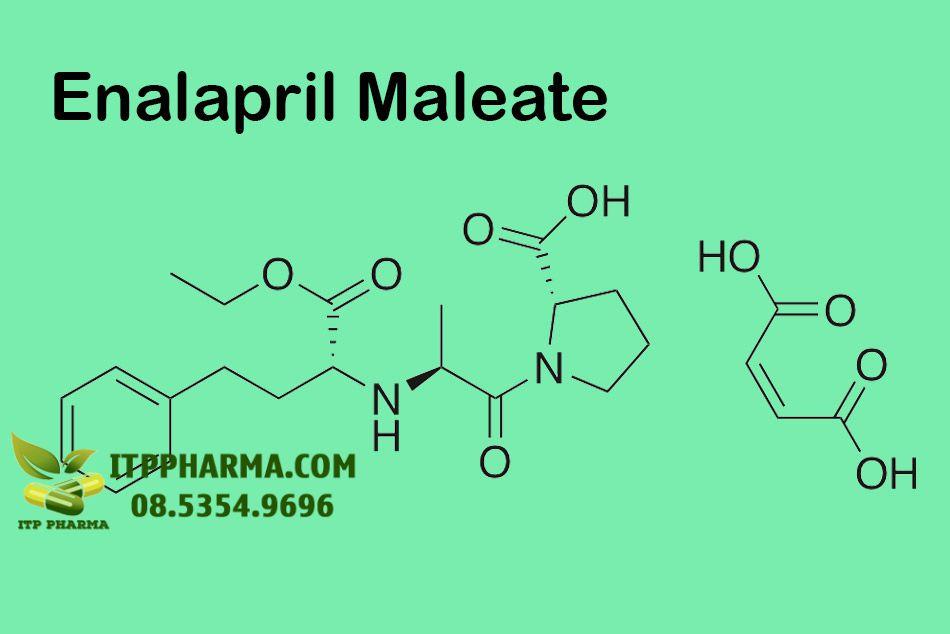 Công thức của Enalapril Maleate
