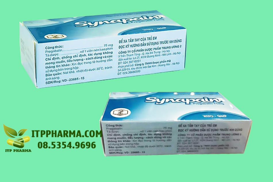Thuốc Synapain 75mg