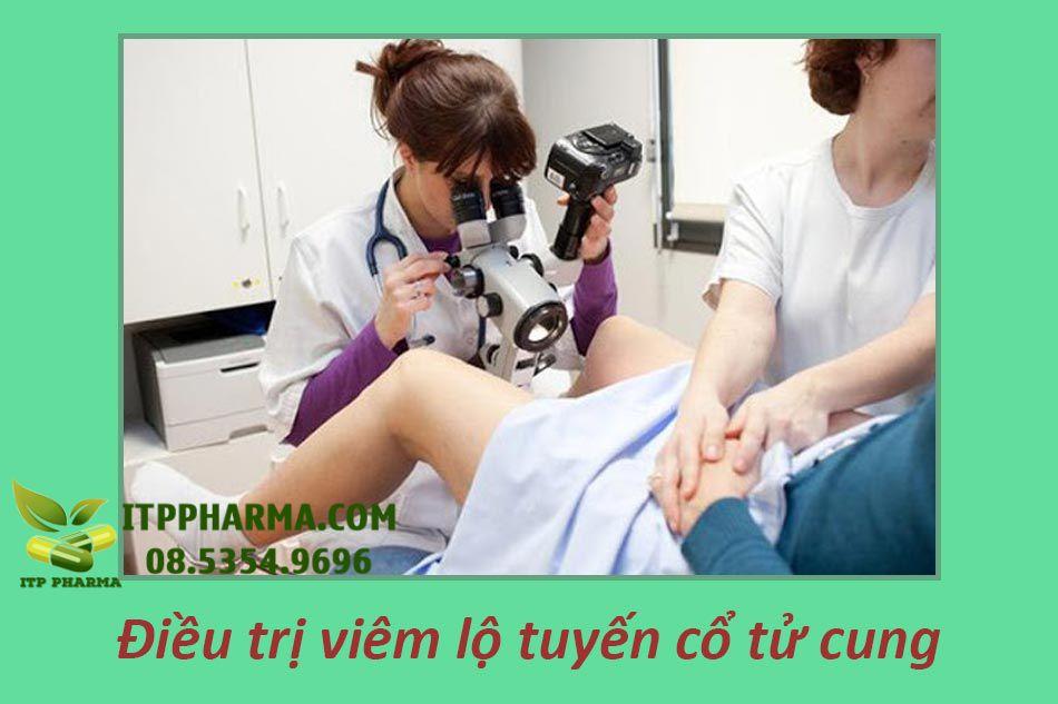 Phương pháp điều trị viêm lộ tuyến tử cung