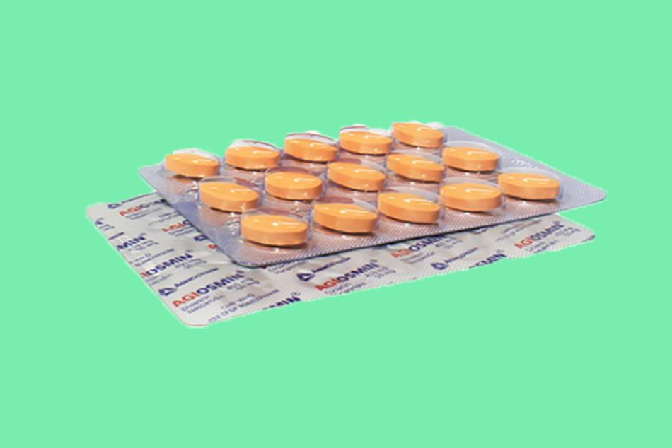 Hình ảnh vỉ thuốc Agiosmin