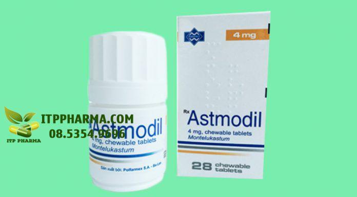 Hình ảnh thuốc Astmodil 4mg