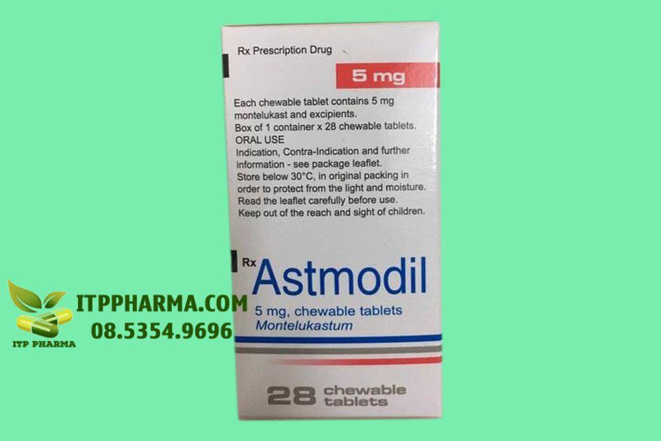 Hình ảnh thuốc Astmodil