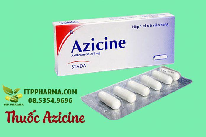 Hình ảnh Thuốc Azicine 250mg
