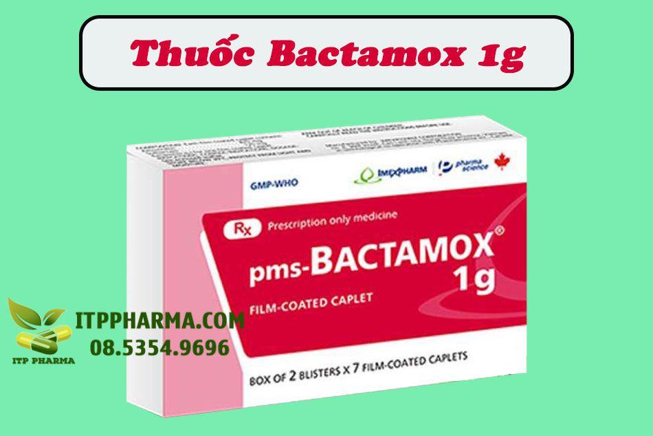 Hình ảnh thuốc Bactamox 1g