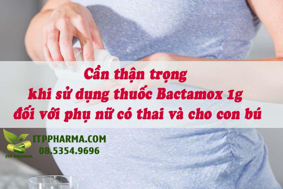 Thận trọng khi sử dụng thuốc với phụ nữ có thai và cho con bú