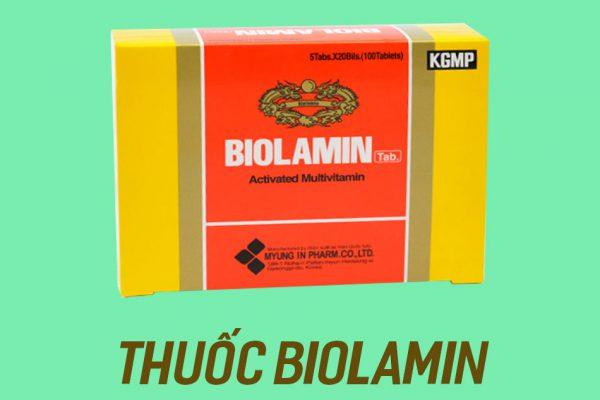 Hình ảnh thuốc Biolamin