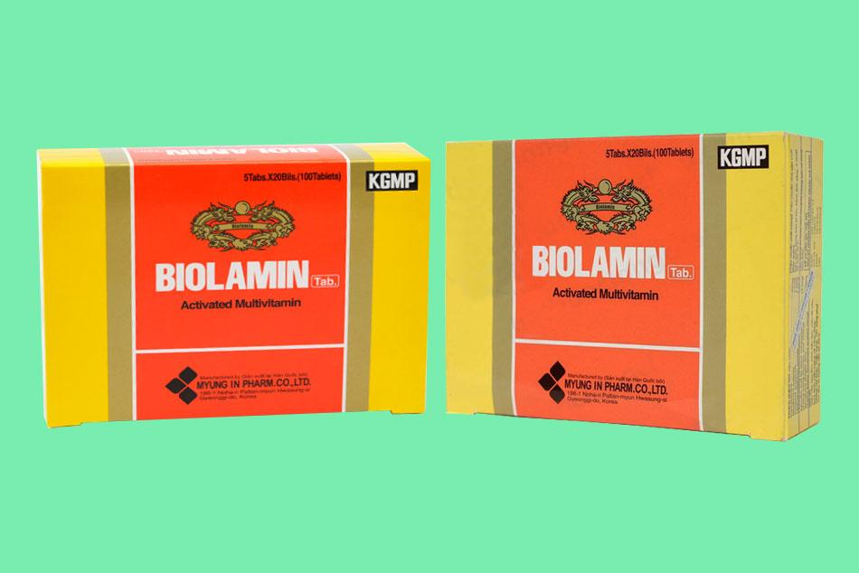 Hộp thuốc Biolamin