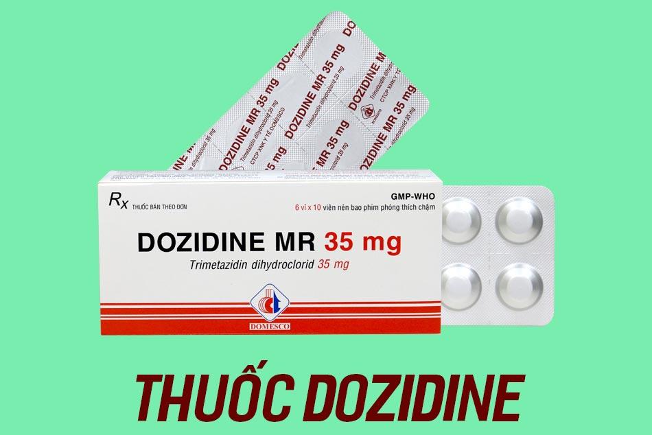 Hình ảnh thuốc Dozidine Mr 35mg
